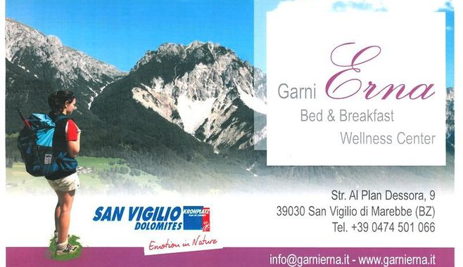 Garni Erna Mountain B&B