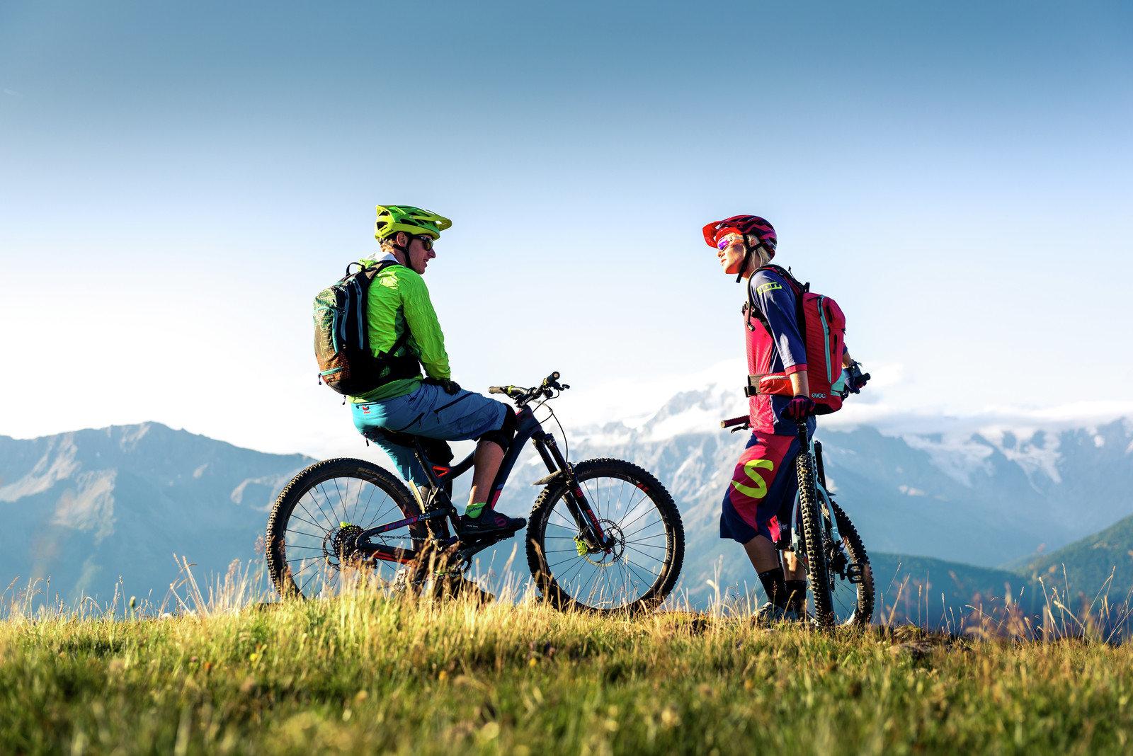 Mountainbike-Woche mit 5 geführten Touren