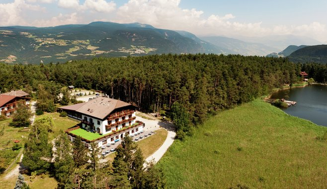 Hotel Waldsee - Hotel Waldsee at the lake to the Dolomites South Tyrol
