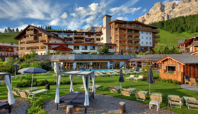 Dolomiti Wellness Hotel Fanes - estate