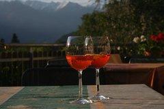 aperitif at the terrace