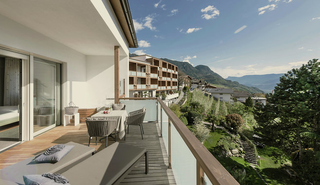 Hotel Hohenwart - Unbeatable view of the South Tyrolean mountains from all Hohenwart rooms