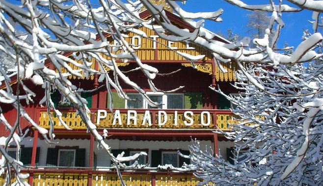 Parkhotel Sole Paradiso - Winter
