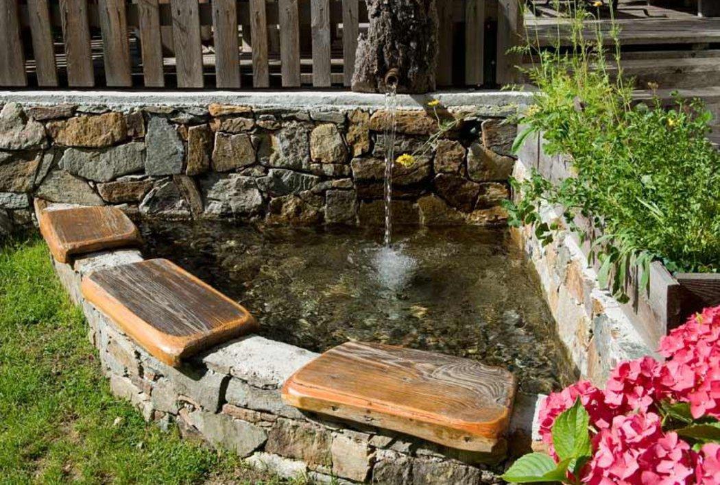 Natur Wellness mit Wasser