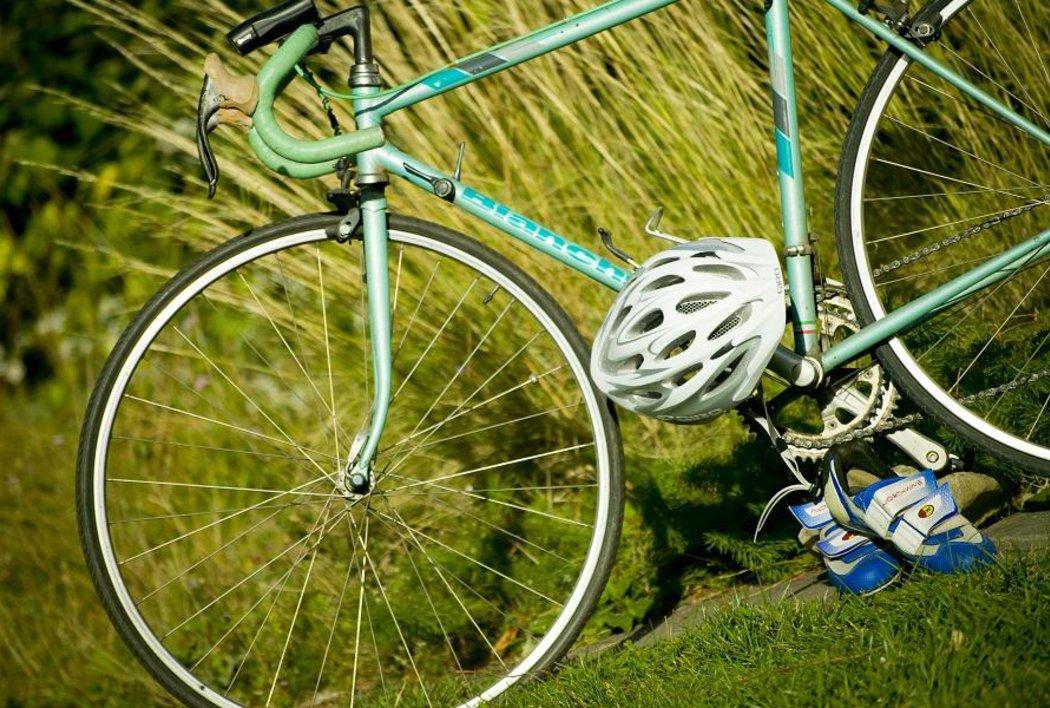 Radfahrer und Biker willkommen