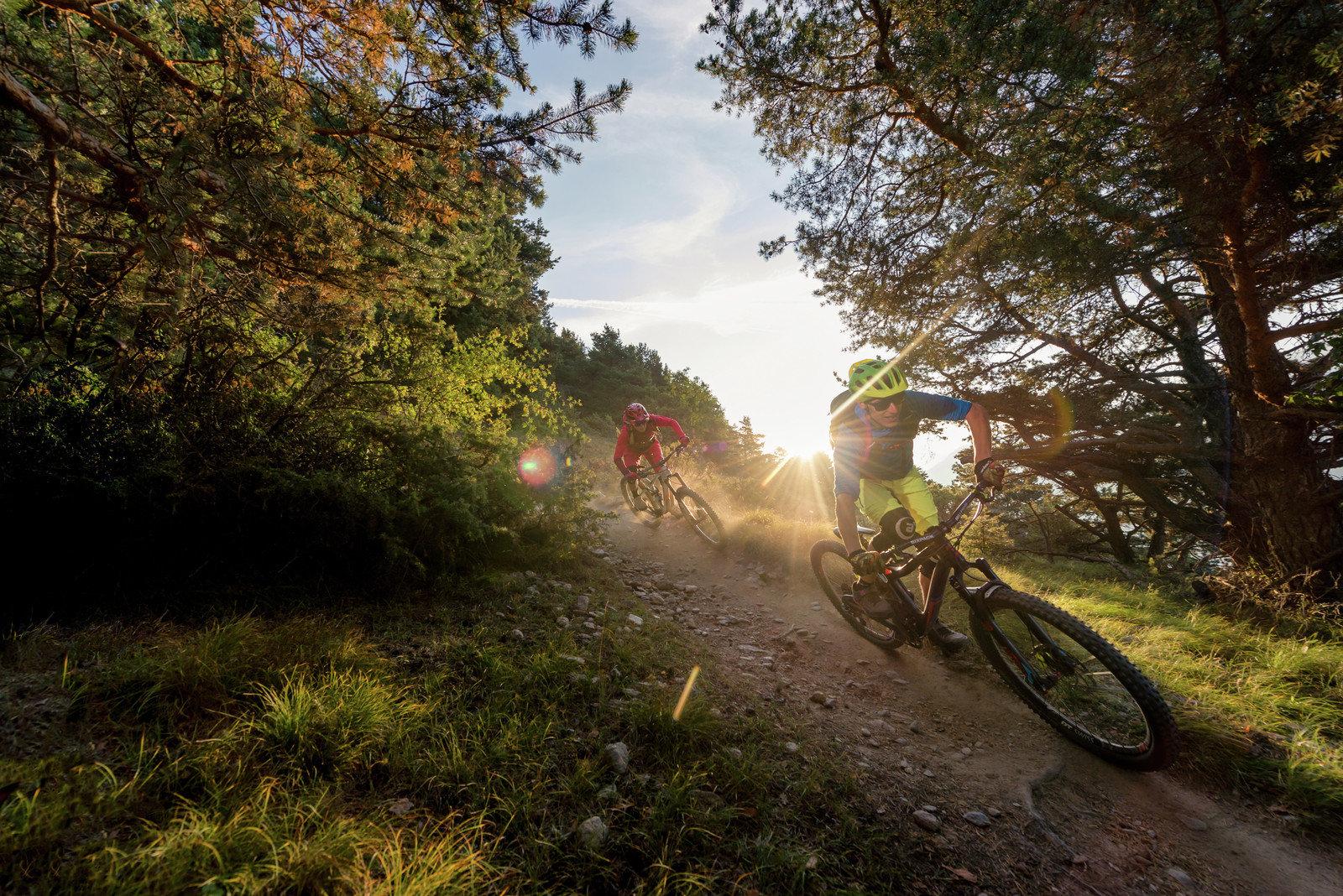 Mountainbike-Woche mit 3 geführten Touren