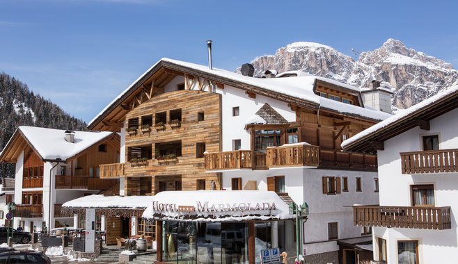 Hotel Marmolada - Winter Beginning