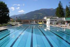 Outdoor Pool of Bruneck