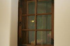 Altes erhaltenes Fenster