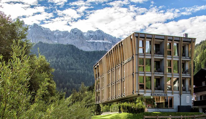 Mountain Design Hotel Eden Selva - summer