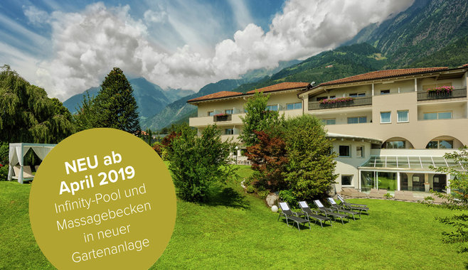 FAYN garden retreat hotel - Romantic Design and Luxury Hotel 4 stars in South Tyrol | Hotel in Merano